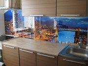Изготовление и установка Скинали,  панно из стекла на кухню,  витражи
