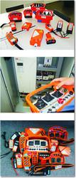 Компактные пульты и джойстики для спецтехники Elca